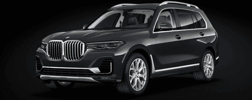 2020 Black BMW X7