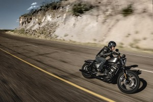 Male riding a 2016 Iron 833
