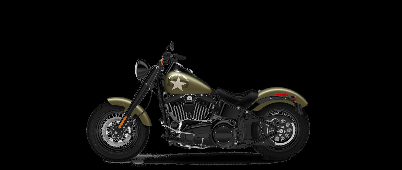 2016 Harley-Davidson Softail Slim S Olive