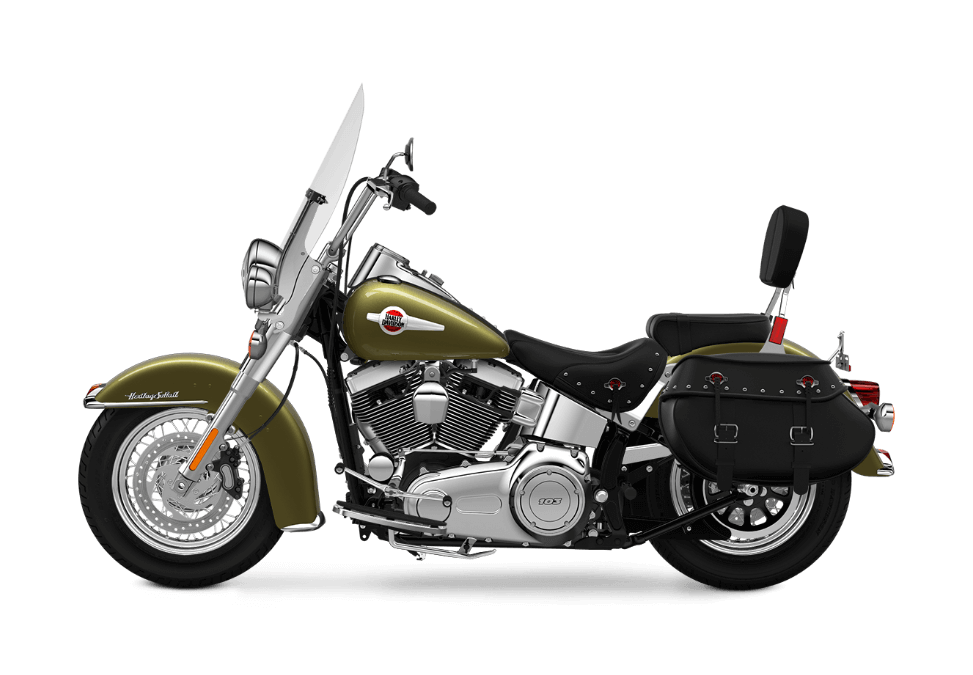 2016 Heritage Softail Classic in Olive