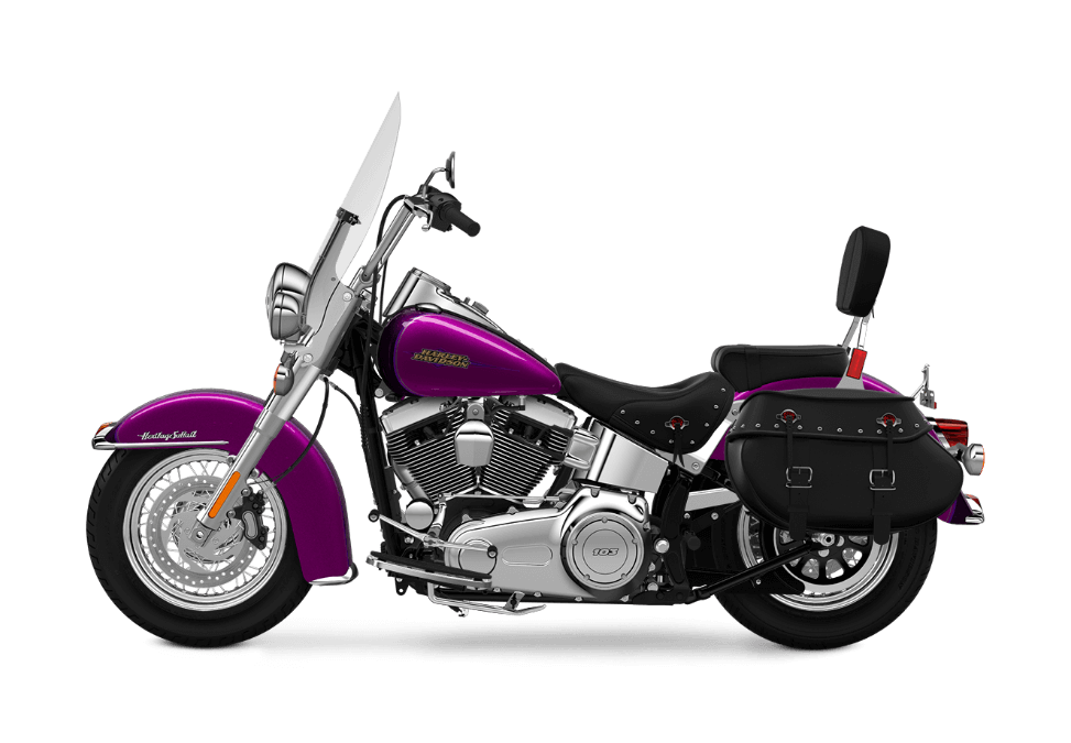 2016 Heritage Softail Classic in Purple