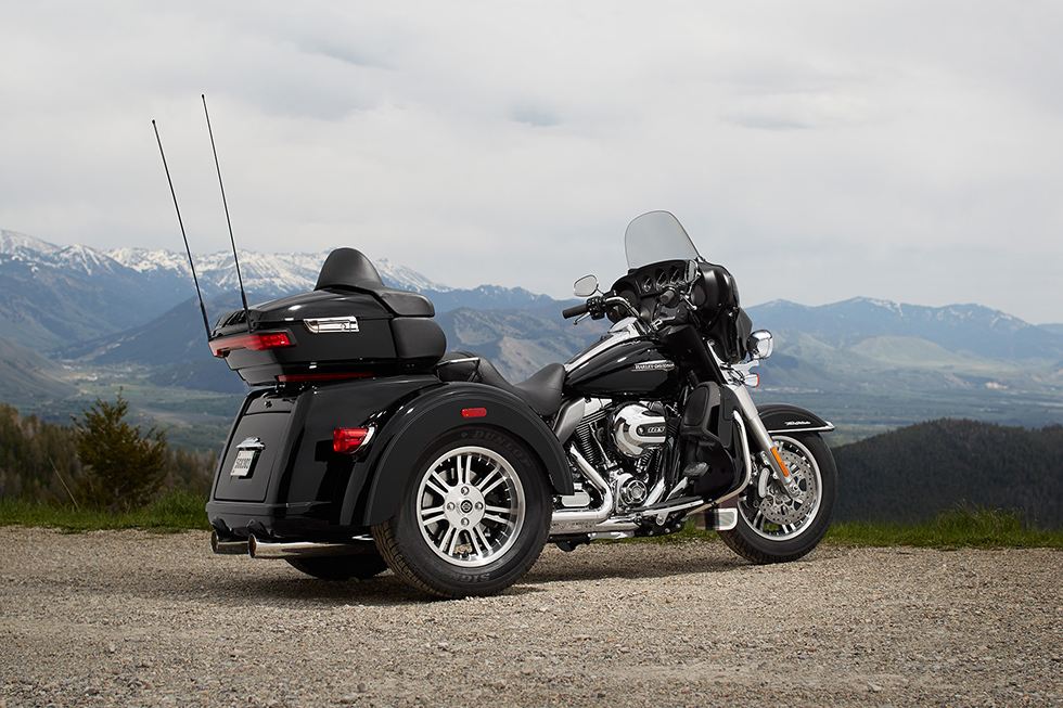 2016 Harley Davidson Tri Glide Ultra Confidence And: The 2016 Harley-Davidson Tri Glide® Ultra Provides Three
