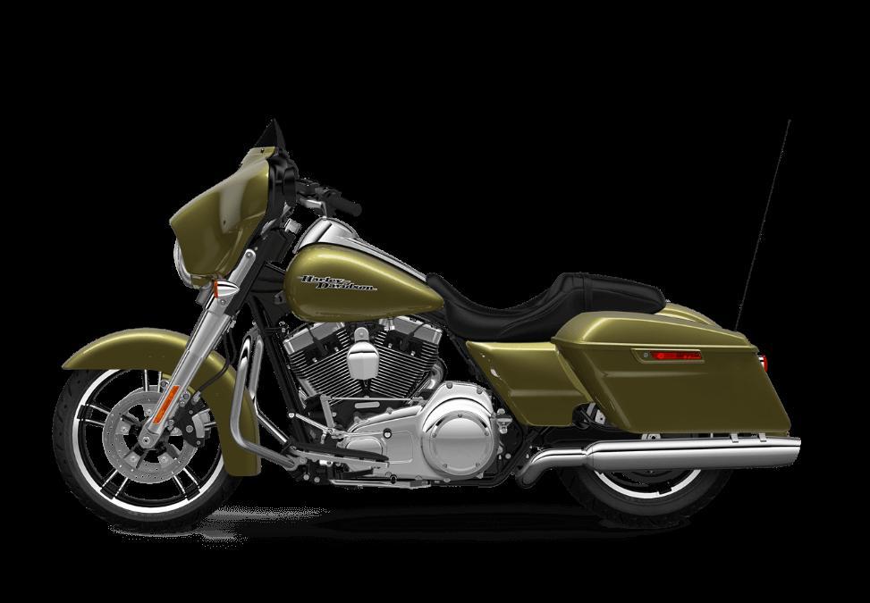2016 Harley Davidson Touring Street Glide Olive Gold