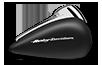 2016 Road Glide Black Denim Tank