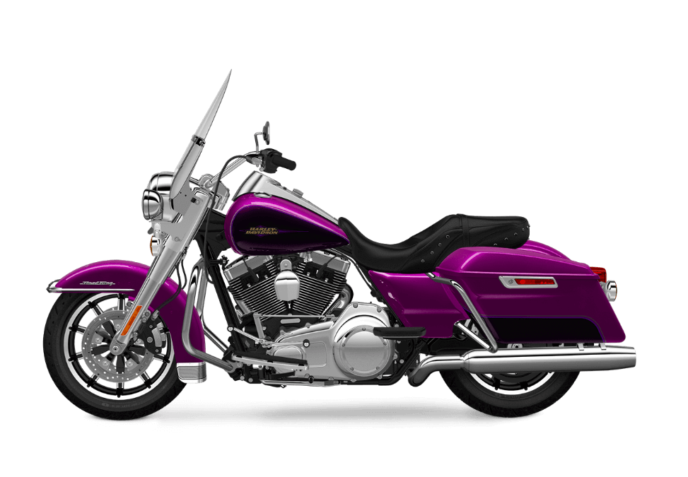 2016 Road King Purple Fire transparent