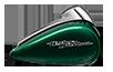 2016 Street Glide Special Tank Green
