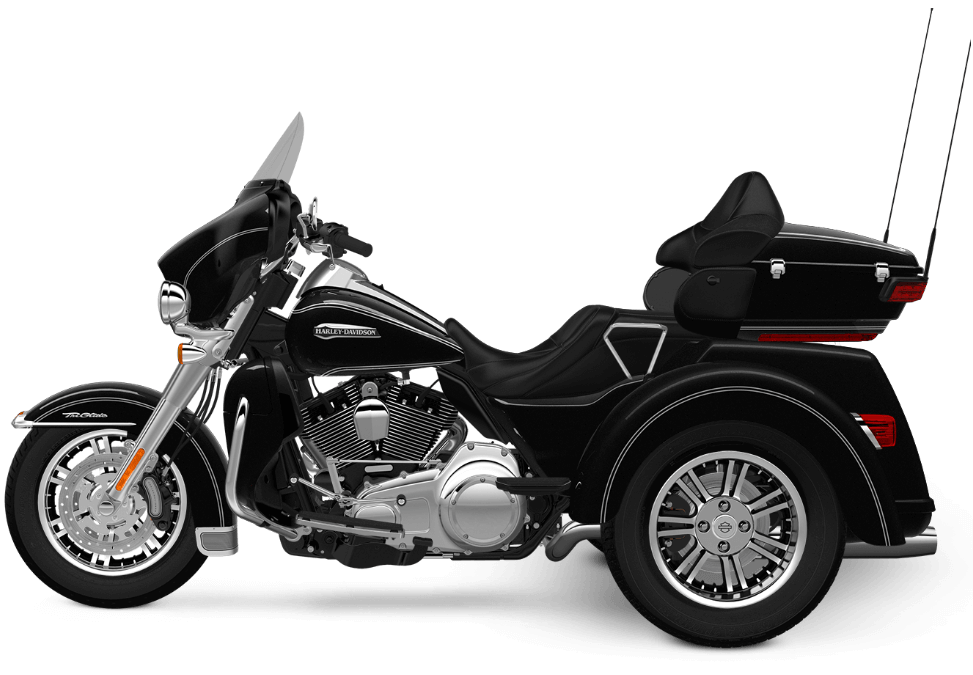 2016 Tri Glide Ultra Vivid Black