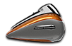 2016 electra glide ultra classic amber whiskey:charcoal pearl
