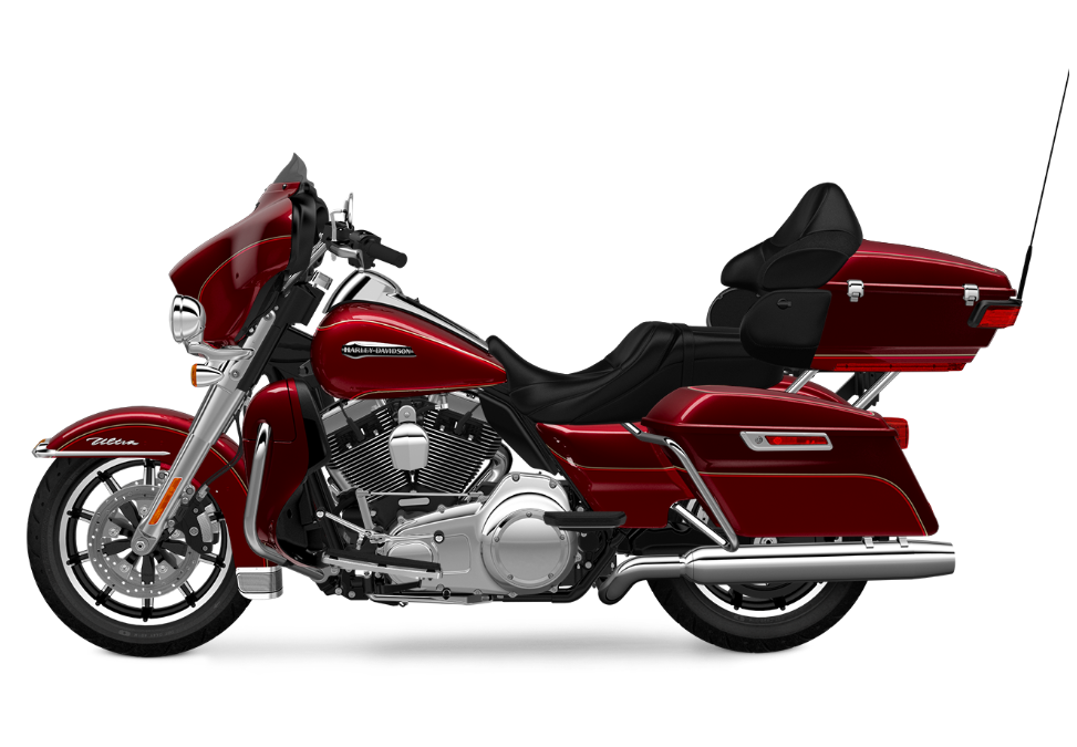 2016 electra glide ultra classic mysterious red sunglo tp