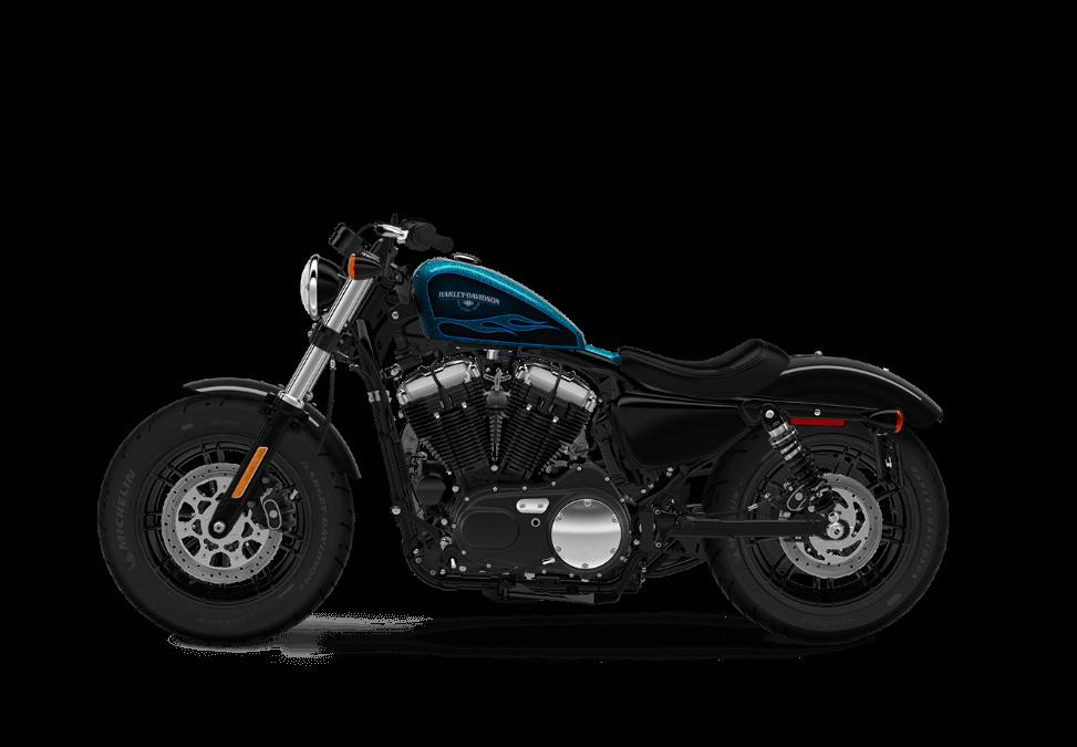 Harley-Davidson Forty Eight HC Cancun Blue Flake