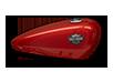 Harley-Davidson Street® 750 velocity red sunglo tank