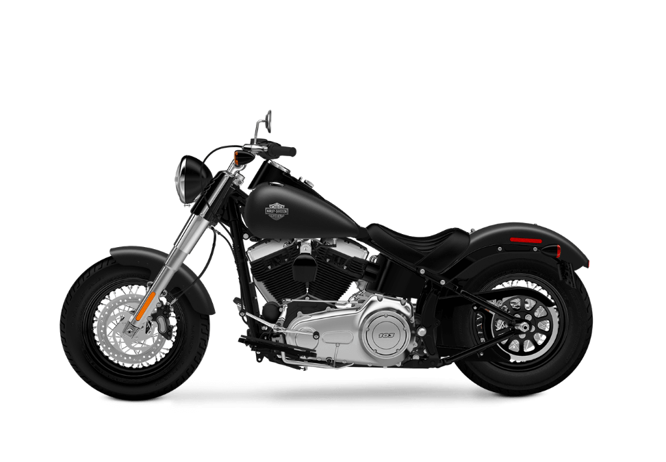 2016 Softail Slim black denim