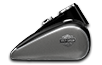 2016 Softail Slim charcoal satin vivid black satin tank
