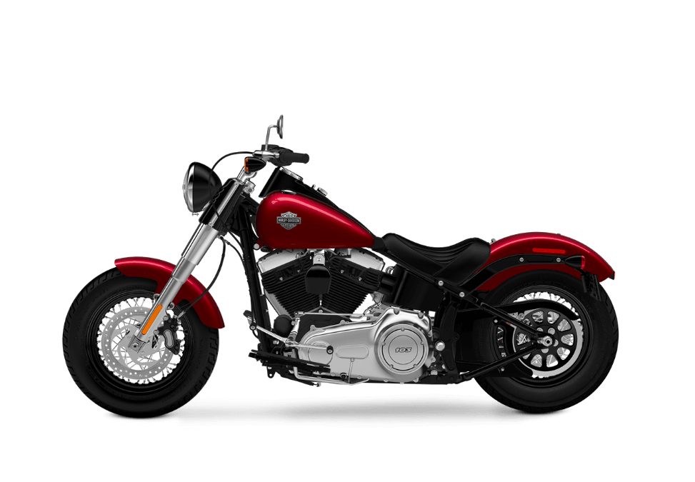 2016 Softail Slim velocity red sunglo