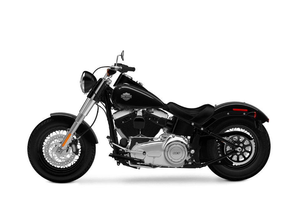 2016 Softail Slim vivid black