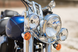 2016 Softail Deluxe headlamps