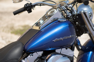 2016 Softail Deluxe closeup