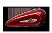 2016 Harley-Davidson 1200 Custom mysterious red sunglo