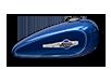 2016 Harley-Davidson 1200 Custom superior blue