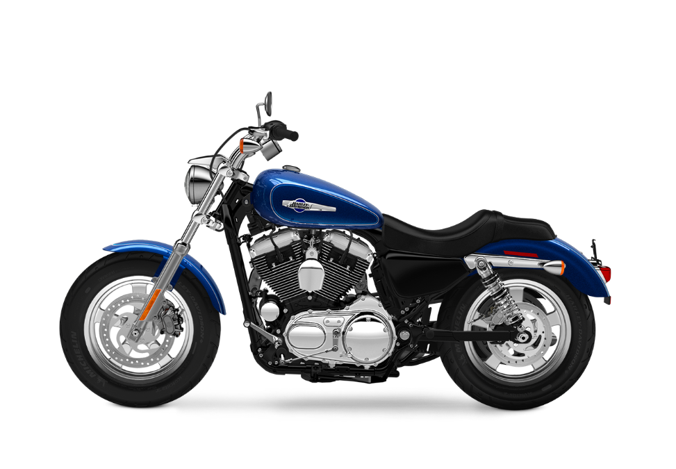 2016 Harley-Davidson 1200 Custom superior blue