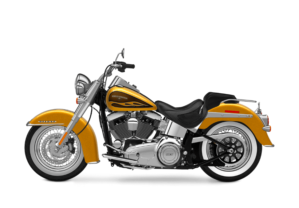 2016 Softail Deluxe hard candy gold flake