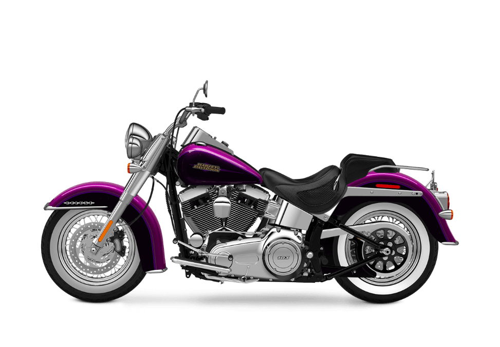 2016 Softail Deluxe purple fire