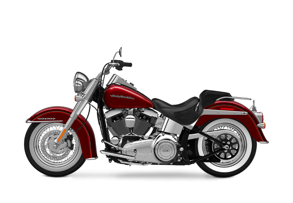 2016 Softail Deluxe red sunglo
