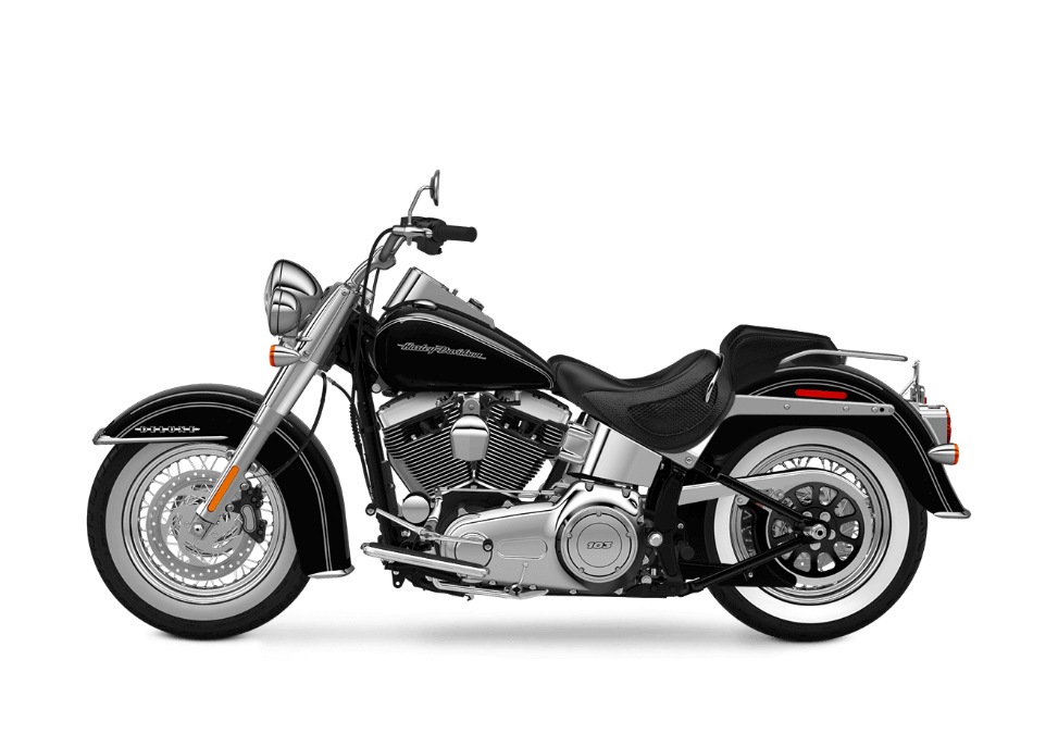 2016 Softail Deluxe vivid black
