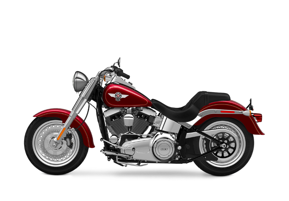 2016 Fat Boy Red
