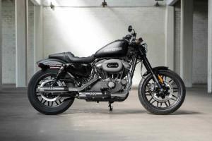 Harley-Davidson Roadster in silver