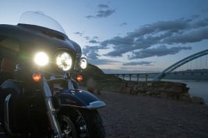 Harley-Davidson Electra Glide Classic headlights