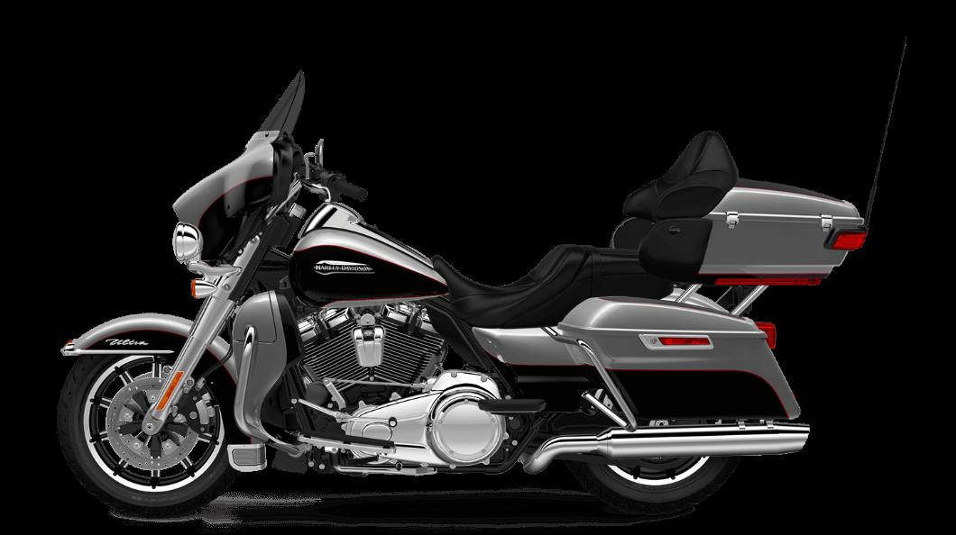 2017 Electra Glide Ultra Classic Silver & Black