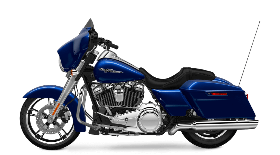 2017 Street Glide in Superior Blue