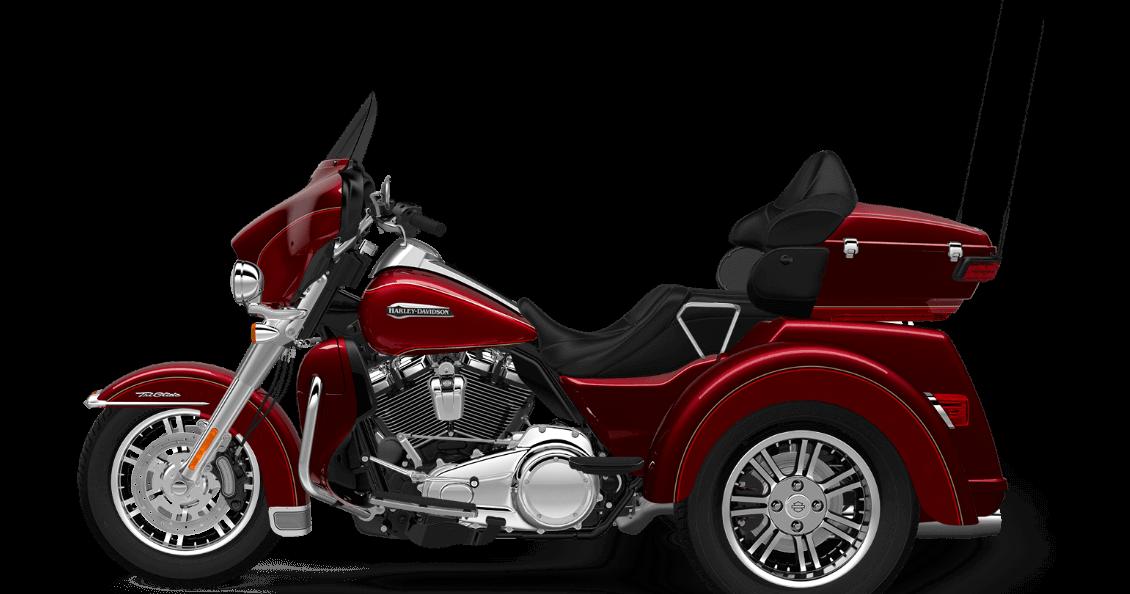 Red Sunglo 2017 Harley-Davidson Tri Glide Ultra