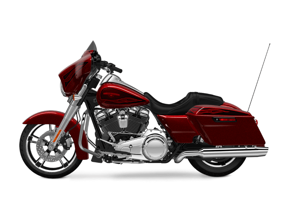 Street Glide Special Hard Candy Hot Rod Red Flake