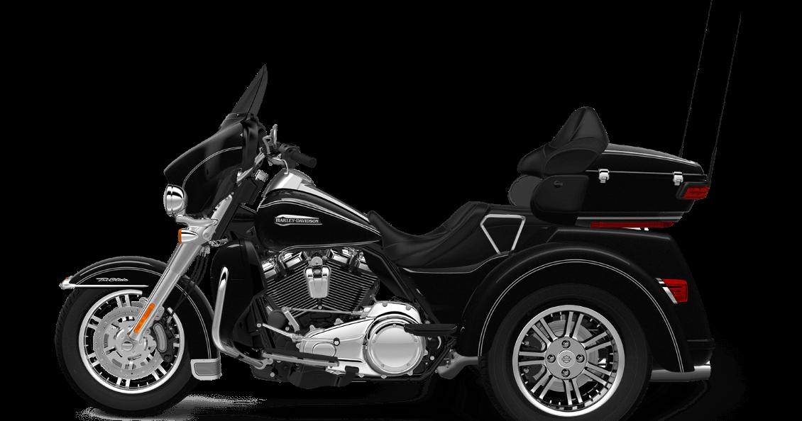 Vivid Black 2017 Harley-Davidson Tri Glide Ultra
