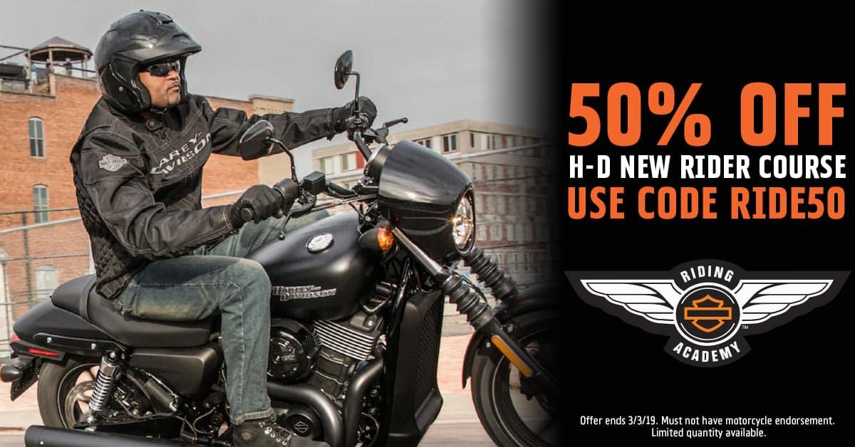 Learn to Ride a Motorcycle | Olathe, KS | Rawhide Harley-Davidson