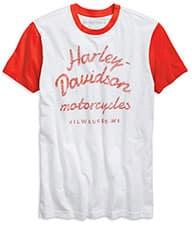 Harley Men's Reverse Printed T-Shirt 96779-19VM