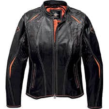 Harley Women's Harker CoolCore Leather Jacket 97043-19VW