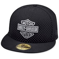 Harley 59FIFTY Perforated Woven Ballcap 97863-19VM