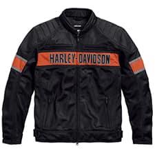Harley Trenton Functional Mesh Riding Jacket 98111-16VM