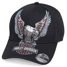 Harley Men's Eagle Baseball Hat 99473-19VM