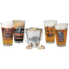 Harley Pint Glass Set HDL-18785