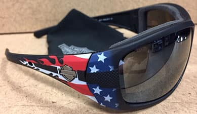 Harley WileyX Limited Edition PPZ Tank American Flag Sunglasses HDTAN30