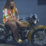 Jason Momoa Harley Museum Milwaukee