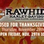 Nov. 28 Closed for Thanksgiving