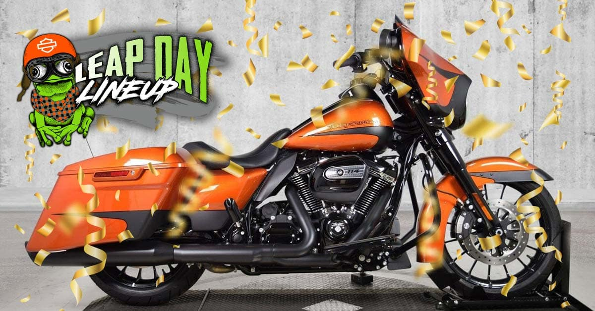 Leap Day 2020 Preowned Blowout Bike Sale