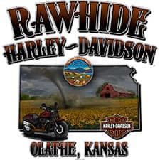 Rawhide Harley T-Shirt Back