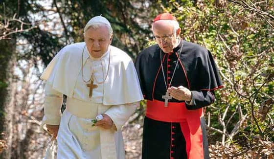 Where to stream the Two Popes online?