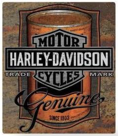 2010931 - Harley Tin Sign